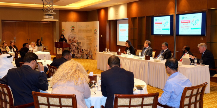 The panel was supported by the Emirates Green Building Council and sponsored by Adeeb Group and highlighted insights, experiences and recommendations for ensuring sustainability across the supply chain and mobilising commitment from various sectors.