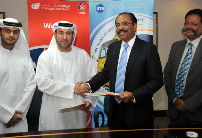 EPPCO has bagged a five year lubricants supply contract with STS.