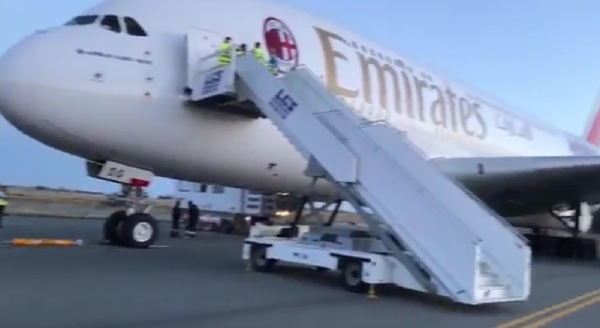 An Emirates A380 had to make an emergency landing at Larnaka International Airport in Cyprus on Friday after a passenger gave birth mid-flight.