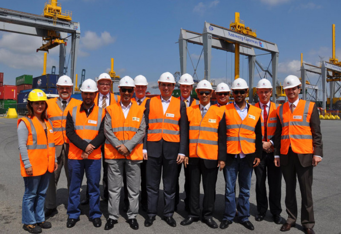 Etihad Rail delegation to Antwerp