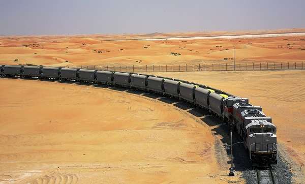 Etihad Rail has announced that more than two million tonnes of sulphur have been transported in the past year, with plans to triple that.