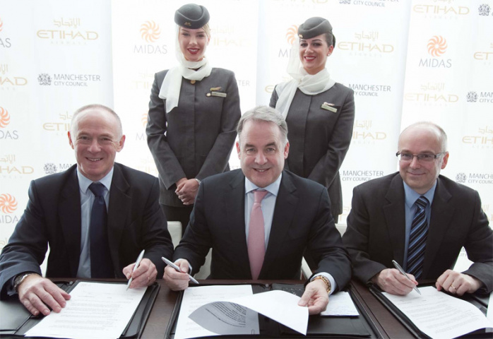 Etihad is creating 160 jobs for Northerners.