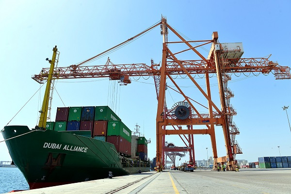 Dubai Alliance is the first ship to arrive at the new terminal, which is wholly owned by Abu Dhabi Ports.