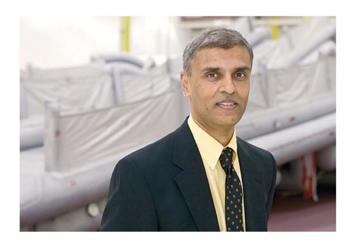 On board: Goodrich?s N.S. (Pandri) Pandarinath says the company has already secured several Middle East clients