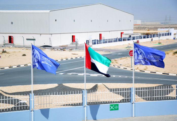 Geodis wilson, Jebel Ali, Uae, NEWS, Warehouse technology