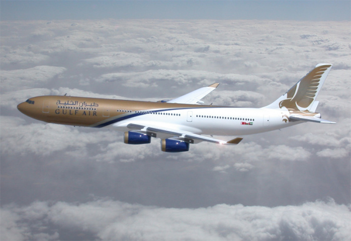A passenger became ill on a Gulf Air flight.