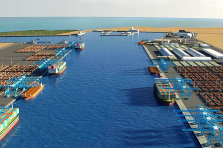 Agreement aims to develop security systems in the New Hamad Port project (pictured), Abu Samra border and the port of Ruwais.