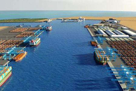 Hamad Port will be the logistics nerve centre of the Qatari economy when complete