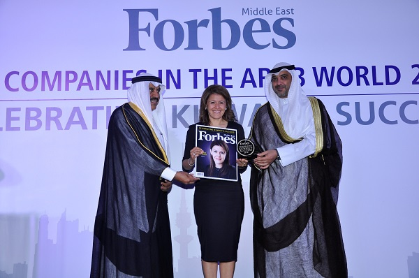 Agility board member Henadi Al-Saleh also singled out as one of the most powerful Arab business women