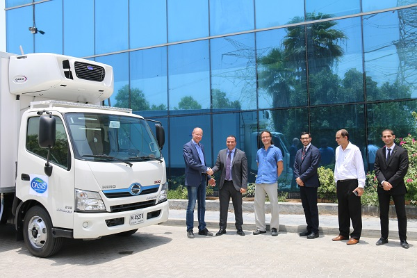 The custom-built Hino 300 series Hybrid light-duty truck has been modified by Gorica to suit the requirements of the business.