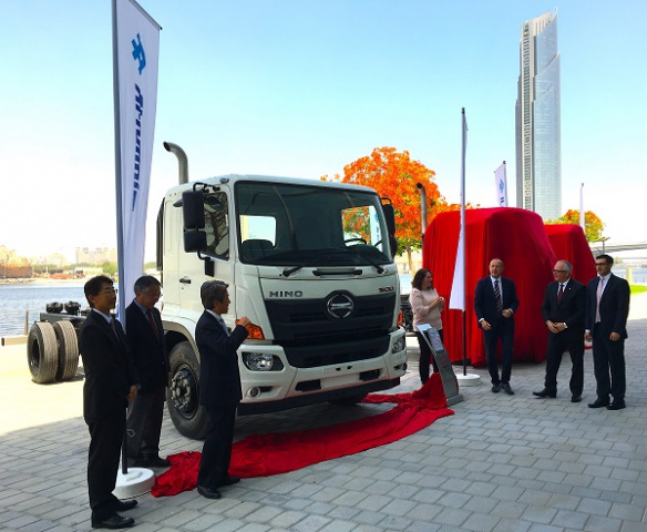 Featuring a redesigned exterior, a host of enhanced safety features and driver comfort amenities, the 2017 Hino 500 Series continues to deliver on the company's promise of quality, durability and reliability, and is purpose-built to suit the needs of the local market to support customers' businesses.