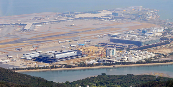 Hong Kong was named best airport in this year's Skytrax poll (Mike Clarke/AFP/Getty).