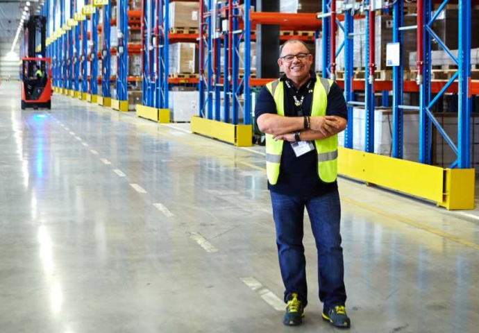 Abdelaziz Kadri, managing director, IKEA Distribution Services DWC.