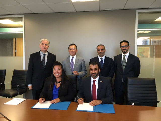Jafza also signed a Memorandum of Understanding with the Trade Development Alliance Greater Seattle to encourage trade relations between the two cities and organisations in the presence of the Abdulla Alsaboosi, Consul General of the United Arab Emirates (UAE) in Los Angeles and Saud Al Nowais, Commercial Counselor, Embassy of the UAE in Washington.