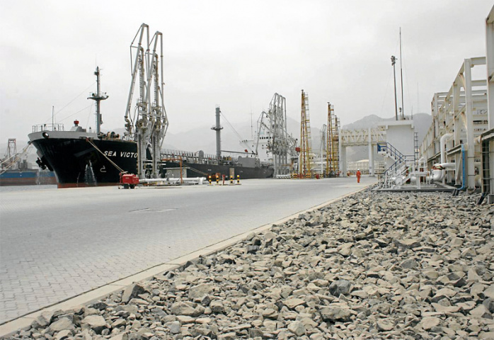 The Port of Fujairah is most famous for its bunkering operations.