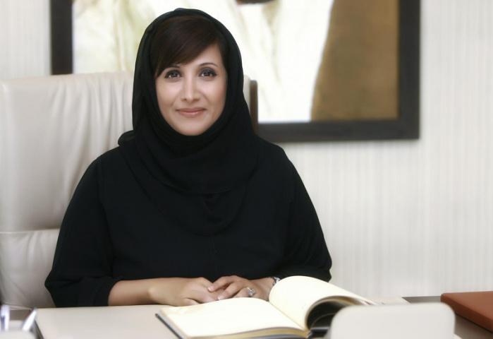 Salma Ali Saif Bin Hareb, Jafza CEO.