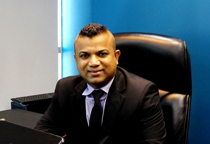 Jasleem Meethal, managing director, Jenae Logistics.