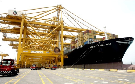 PHOTOS: Top Arab ports by TEUs in 2012