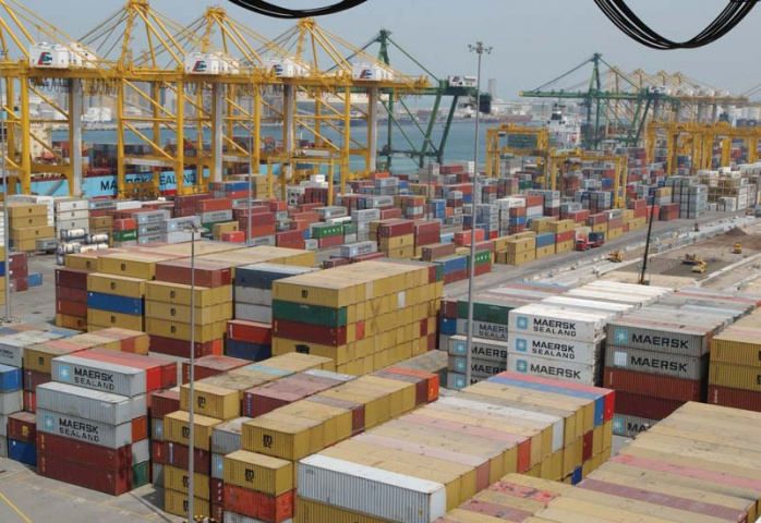 The year-on-year container traffic decline of 8.8% compares with a full-year decline of 6% experienced in 2009 compared to 2008.