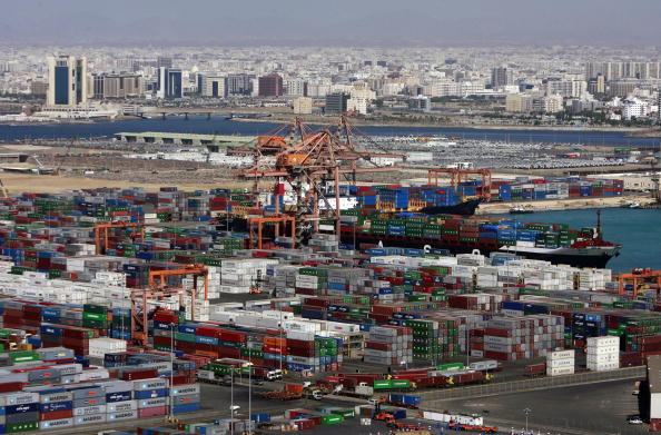 A general view shows cargo containers at the Jeddah Islamic Port off the Red Sea on November 30 2008 AFP PHOTOKHALED DESOUKI Photo credit should read KHALED DESOUKIAFPGetty Images