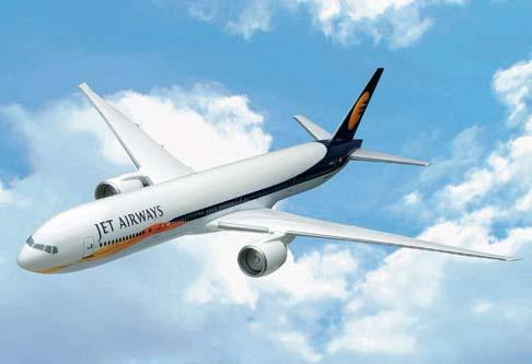 Jet Airways plane