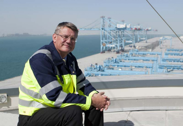 APM Terminals Bahrain managing director Steen Davidsen sees the Bahrain Gateway port as a crucial Upper Gulf hub.