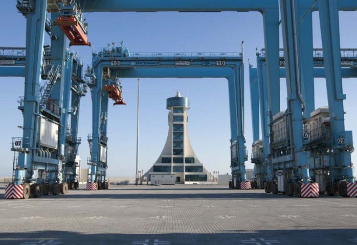 The Bahrain Gateway, a member of APM Terminal's highly diversified facilities portfolio.