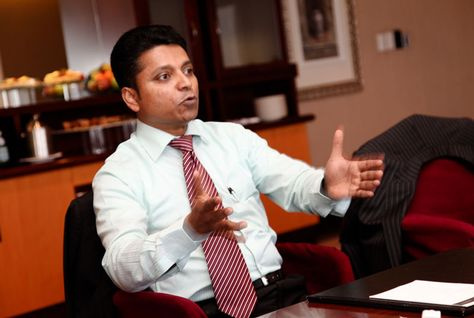 Sunil D'Souza, Kanoo's regional travel director