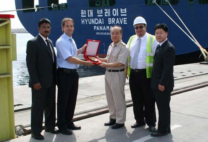 BOOMING: Cargo volumes through Khorfakkan have risen by 20%