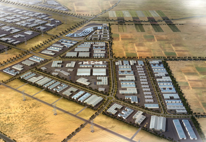 Masterplan of Kizad's Logistics and Light Industry Cluster