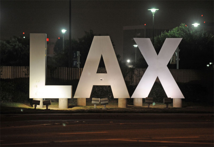 Re-development is planned at LAX (Robyn Beck/AFP/Getty Images).