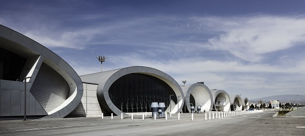 The new terminal consists of seven buildings with an internal area of 7,000 square meters.