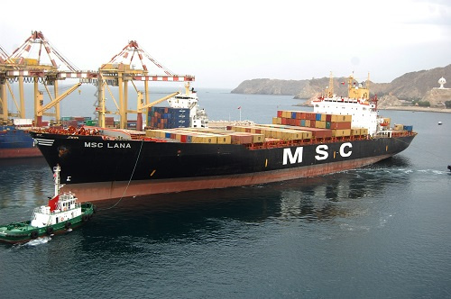 MSC Lana is one of the older vessels in MSC's fleet. Built in 1999, the container ship has a capacity of 1,830-TEU.