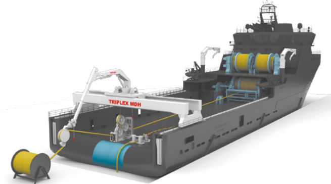 MacGregor's scope of the order includes on-vessel equipment, Flintstone mooring connectors, as well as project management for the fabrication, procurement and project management of the complete mooring and riser system for the FSRU operated by Excelerate Energy.