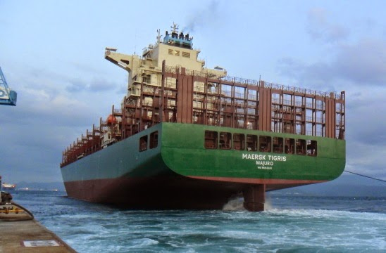 Maersk says that Tigris is neither owned or crewed by the carrier and should therefore be released
