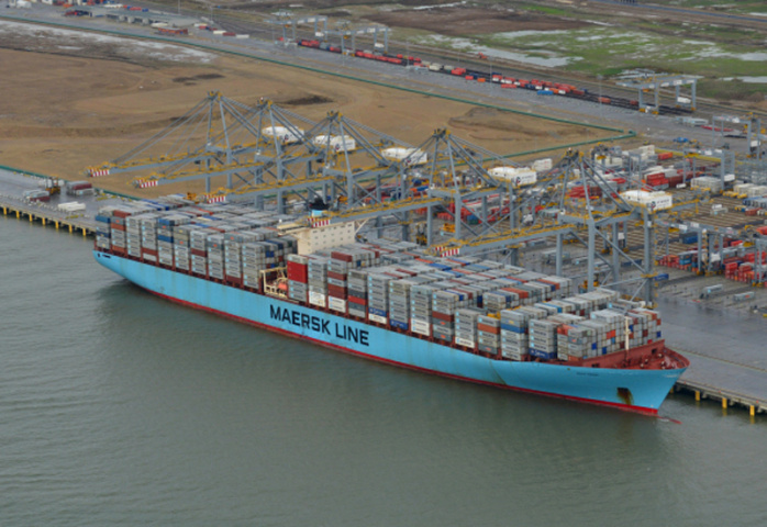 London Gateway is DP World's flagship container terminal in Britain.