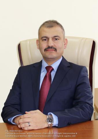 Majid Barzanji, co-founder and chairman, Mateen Express.
