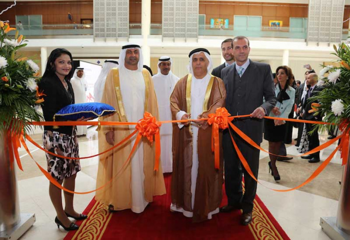 HE Mattar Al Tayer, chairman of the board & executive director of Dubai's RTA opens Materials Handling Middle East 2015.