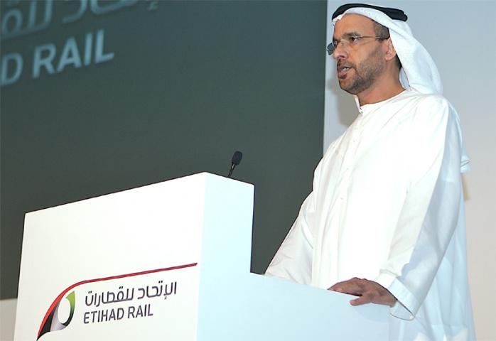 Nasser Al Sowaidi says Etihad Rail will further grow the UAE as a logistics hub.