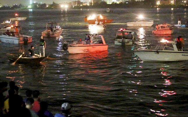 Four more bodies were recovered from the Nile Sunday, bringing the death toll from the Nile accident over the weekend to 34.