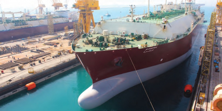 Ballast Water Management System (BWMS) installation was completed for STASCo-managed LNG carrier Aamira