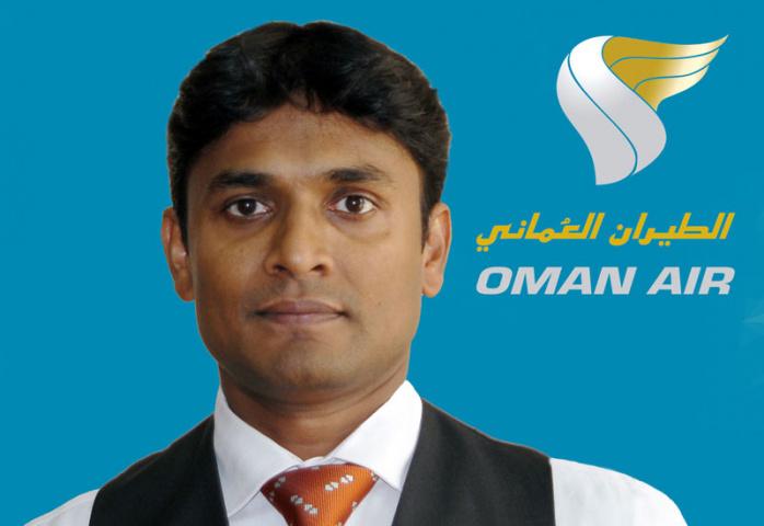 Mohamed Sherief Padiyath, general manager cargo, Oman Air