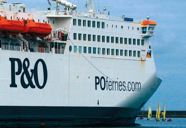 P&O is planning to boost freight operations