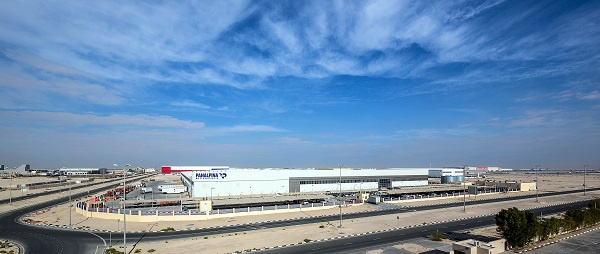 The new facility spread over 40,000 sq m, is Dubai South's second built-to-suit product delivery, and is a fully air conditioned Grade A facility.