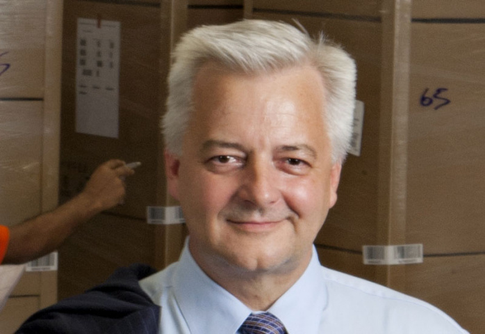 Claus Schmidt, Middle East managing director, Panalpina