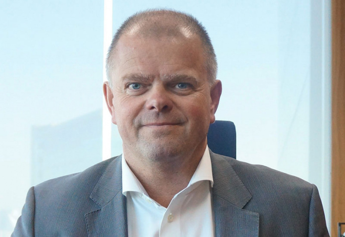 Peder Winther, Kuehne + Nagel's president for the Middle East & Africa.