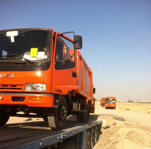 Baghdad, Iraq, Logistics, Middle east, Trucks, NEWS