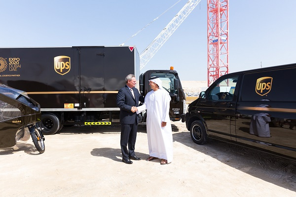 """UPS expects to hire 1,000 people to work at """"Expo 2020"""" and will manage more than 27,000 square meters of warehouse space."""