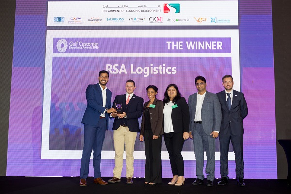 RSA Logistics received the award for creating a high-value product through its on-site logistic services.