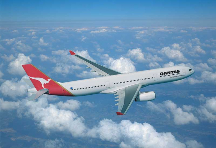 Qantas' reduced bellyhold capacity will reflect a worldwide drop in demand for airfreight.